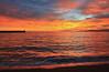 Cuando todo se vuelve rojo... (lesxanes) Tags: amanecer sunrise seascape playa beach sand sky cielo
