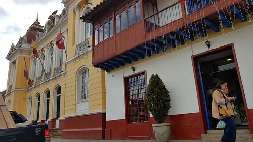 2150 Zipaquirá, Colômbia. Pueblo de Zipaquirá