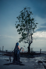 Remilia Scarlet (Forbidden Garden) (bdrc) Tags: 30mm apsc alpha alphauniverse asdgraphy banting beach cosplay dead evening f28 female forbidden forest girl gothic kelanang klang lady malaysia nature outdoor pantai people portrait prime project remilia salt sand scarlet sea sigma single solo sony sonyalpha sonyimages sunset touhou tree vampire water wideangle wood flash strobe godox ad600 reflector