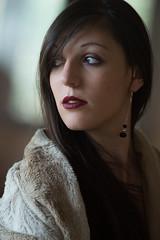 Elodie : Portrait : Nikon D4 : Nikkor 300mm F4  AF-D IF ED : Window Light : Natural Light (Benjamin Ballande) Tags: elodie portrait nikon d4 nikkor 300mm f4 afd if ed window light natural