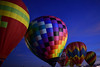 Too Much of a Good Thing (oybay©) Tags: phoenixballoonfestival phoenix balloon festival chickfila hotairballoon hotair hot air arizona suncitywest sky bluesky redballoon color colors colorful bounty winter balloons cactus cacti enmasse vehicle aircraft outdoor