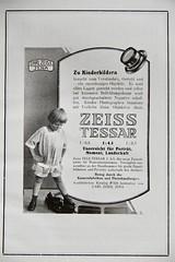 1924 Ad for Zeiss Tele Tessar Fernobjektiv (Jojorei) Tags: carl zeiss jena optics optik tele teleobjektiv german deutsch annodazumal antik antique collecting lens linse sammeln foto photography retro objektive werbung ad advertisment printwerbung magazin zeitschrift artdeco