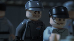 Imperial Officer (Force Movies Productions) Tags: war wars lego empire toy toys trooper troops troop youtube imperial minfig officer conflict pose soldier cool movie world soldiers moc photograpgh photo picture photograph photoshop photography animation army scene stopmotion film firearms frame fleet galactic legophotograghy legophotography custom bricks brickarms brickfilm minifig military minifigs minifigure militia star starwars starfighter colonel commander