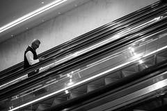 (ByteForByte) Tags: escalator ny newyork newyorkcity manhattan oculus blackwhitephotos blackwhite