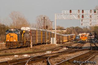 CSX 4784 | EMD SD70MAC | CSX Memphis Terminal Subdivision