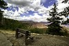 bench (begineerphotos) Tags: bench view tree cliff canyon cloud clouds grandcanyon grandcanyonnationalpark arizona northrim 15challengeswinner
