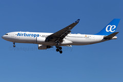 EC-JZL Air Europa A330-200 Madrid Barajas Airport (Vanquish-Photography) Tags: ecjzl air europa a330200 madrid barajas airport lemd mad madridbarajas madridbarajasairport madridairport barajasairport vanquish photography vanquishphotography ryan taylor ryantaylor aviation railway canon eos 7d 6d aeroplane train spotting