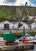 Crane - North Quay, Douglas, Isle of Man. UK (staneastwood - 1.6 million views - Thank you all.) Tags: staneastwood stanleyeastwood building architecture water shore douglas isleofman im quay crane machine pontoon jib