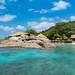 Resort auf der Insel Felicite, Seychellen