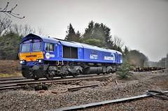 66727 'Maritime One' (stavioni) Tags: gbrf maritime one 66727 shed diesel railway rail train freight railfreight class66