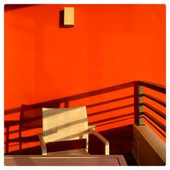 On the Balcony (Timothy Valentine) Tags: shadow 0417 2017 balcony chair vacation ourhotel sliderssunday sanjuan puertorico pr