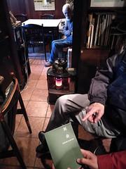"""Mr.Susumu Sakuma / at his restaurant """"Concorde"""" (silver_night 300b) Tags: susumusakura restaurant concorde 佐久間駿 レストラン コンコルド 著書 『再会』 真空管 アンプ vacuum tube amplifier triode da30 845"""
