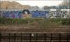 Gert / Brok / Zonk (Alex Ellison) Tags: gert brok zonk ac dds northwestlondon trackside railway urban graffiti graff boobs