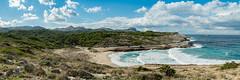 Most beautiful beach of Mallorca Cala Mitjana