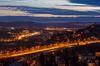 Večerní výhled ze Žvahova (Honzinus) Tags: praha prague cz czech čechy žvahov barrandovský most barrandov hlubočepy braník terasy havel inteligence radotín černošice údolí kotlina