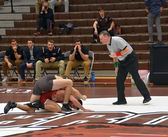 BRO-STA 184 2018-01-13 DSC_7902 (bix02138) Tags: brownuniversity brownbears stanforduniversity stanfordcardinal pizzitolasportscenter pizzitolasportscenterbrownuniversity providenceri january13 2018 wrestling sports intercollegiateathletics athletes jocks ©2018lewisbrianday 184 184pounds judahduhm ninobastianelli
