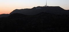 Los Angeles, USA (Nadir B.) Tags: los angeles californie california hollywood sign signe griffith observatory coucher soleil montagne mountain usa etats unis united states