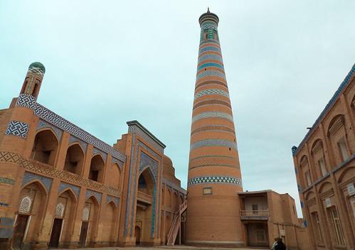 Visite de Khiva, aux aurores