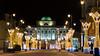 Pałac Staszica (PiotrTrojanowski) Tags: warsaw poland krakowskie przedmieście night evening light illluminatino decoration street city christmas xmas europe beautiful