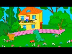 Hippo Peppa e o dragão - Largue as bolas com água sobre os transeuntes - jogo divertido (portalminas) Tags: hippo peppa e o dragão largue bolas com água sobre os transeuntes jogo divertido