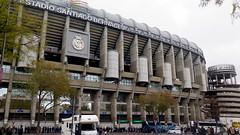 Madrid, Santiago Bernabeu stadium (Sokleine) Tags: bernadeu real realmadrid stadium stade estado stadion football foot architecture madrid espana espagne spain