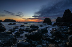 Rodeo Beach sunset (Middle aged Nikonite) Tags: rodeo beach california sunset colors ocean sky clouds outdoor landscape seascape nature shore nikon d7000