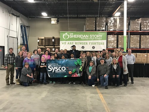 Sysco Minnesota Packing Event 1/23/18