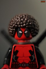 bob ross deadpool (notatoy) Tags: lego marvel minifigures toys deadpool