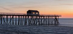 Dawn (arlene sopranzetti) Tags: belmar nj dawn beach ocean sand pier