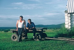 5h. Slavic and Vassili manage a newly privatised collective farm near Abakan
