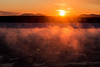 Sunrise in sea smoke (langdon10) Tags: canada canon70d ice quebec shoreline stlawrenceriver cold outdoors seaice winter
