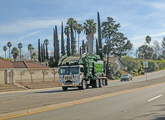 WM Garbage Truck 2-2-18 (1) (Photo Nut 2011) Tags: garbagetruck trashtruck sanitation california wastedisposal truck junk waste trash garbage refuse ranchobernardo sandiego wm wastemanagement
