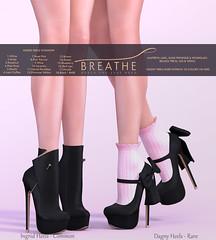 [BREATHE] - Ingrid Heels & Dagny Heels (Sandra Kaufmann) Tags: secondlife sl breathe