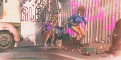 Skater Girl (kyreneglendevon) Tags: melly clarrington aime takaaki mih anna tegan floorplan ariskea bhad craven bad unicorn cosmic dust peaches n cream cynthia ultsch cynful focus poses jian jogi schultz bros kresendo kyrene glendevon lisa broono fox reign runaway hair mesh second life sl residents people 3d blogger virtual fashion lelutka catwa maitreya collab 88 kustom 9