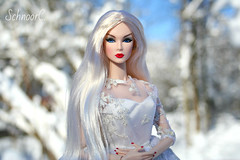 Winter fairy tale (КристинаCristina) Tags: fashion royalty integrity toys doll dollphotographer winter snow eden sneak peek