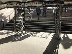 Paris Opera subway station (Csaba923) Tags: paris metro subway galeries lafayette les halles