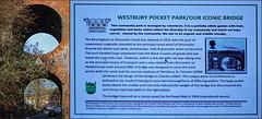 Westbury Pocket Park, Worcester (alanhitchcock49) Tags: oculus railway bridge over worcester to birmingham canal designed by charles liddell westbury pocket park