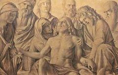 The Lamentation Over the Body of Christ (1500-1506) (just.Luc) Tags: giovannibellini drawing tekening dessin zeichnung christ christus man male homme hombre uomo mann mannen men männer hommes hombres uomini vrouw femme frau donna mujer woman seminude seminu halfnaakt halfnaked pagne loincloth lendendoek lendenschurz beard barbe barba bart baard monochrome monochroom monotone art kunst public publiek museum museo musée uffizimuseum uffizi italia italy italien italie italië firenze florence florencia florenz tuscany toscane toskana toscana europa europe