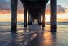 Manhattan Beach Pier (Christopher Balladarez) Tags: manhattan beach long exposure photography sunset pier california wate