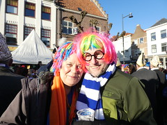 carnival david and ellie (treenquick) Tags: costumes carnival hair colour