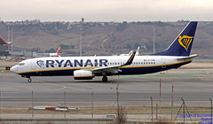 EI-FRM LEMD 10-01-2018 (Burmarrad (Mark) Camenzuli Thank you for the 10.3) Tags: airline ryanair aircraft boeing 7378as registration eifrm cn 44743 lemd 10012018