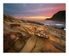 Fisherman at Nanya rocks formations (jos.pannekoek) Tags: taiwan keelung seascape sunrise nanya rocks ocean longexposure tokina1116mmf28 tokinaaf1116mmf28 tokina d500 nikon landscape