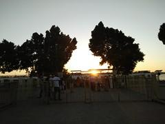 (nanisalleh) Tags: nile rivernile nilecruise komombo temple templeofkomombo egypt sunset sun