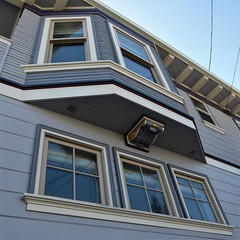 San Francisco, CA, Noe Valley, Bay Window (Mary Warren 13.5+ Million Views) Tags: sanfranciscoca noevalley architecture building house residence baywindow