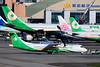 UNI Air ATR 72-600 (72-212A) B-17012 (Manuel Negrerie) Tags: uni air atr 72600 b17012 atr72212a avion transport travel turboprops tsa songshan airport spotting green evergreen plane tarmac logo design aviation aeronautic