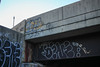 Cats, Bene (NJphotograffer) Tags: graffiti graff new jersey nj bridge beam cats ckd void ldz crew bene