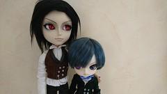 Sebastian and Ciel (Kulukala Art) Tags: pullip taeyang dal ciel sebastian black butler kuroshitsuji