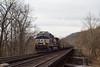 River Run (nrvtrains) Tags: coal christiansburgdistrict empty blountdr elliston bridge norfolksouthern 60l virginia unitedstates us