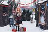 on the winter street III (AzureFantoccini) Tags: bjd street christmas winter snow doll abjd balljointeddoll sd outdoor miniature diorama granado eva emon ozin5 hybrid cafe