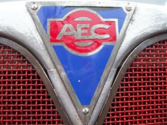2 AEC Badge - History (robertknight16) Tags: aec badge badges automobilia walthamstow southall brooklands